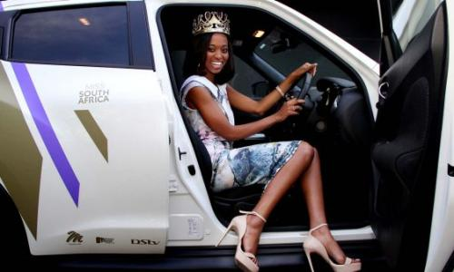 Miss South Africa receives a brand new Nissan Juke
