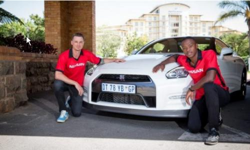 Kagiso Rabada and Dale Steyn named Nissan Brand Ambassadors in South Africa