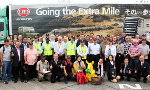 UD Trucks SA compete in Extra Mile Challenge in Japan
